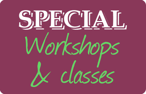 Workshops and classes - inFrench naturellement !